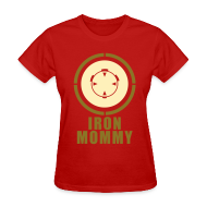 Women's T-Shirts ~ Women's T-Shirt ~ Iron Mommy