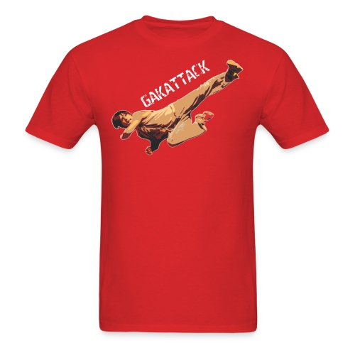 Gak Kick! Men's Standard Fit - Men's T-Shirt