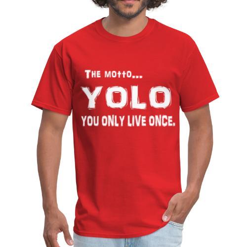 Y.O.L.O Tee - Men's T-Shirt