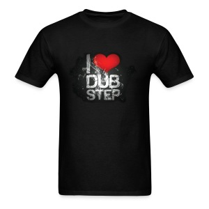 I LUV DUBSTEP - Men's T-Shirt