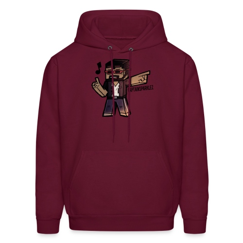 Cartoon Singer - Men's Hoodie