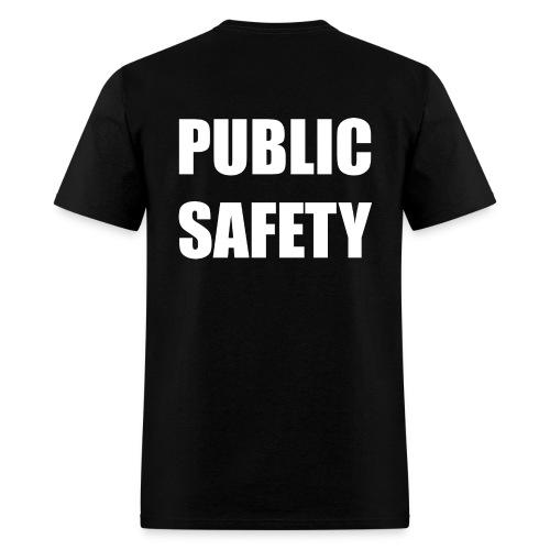 Public Safety (on back) TShirt - Men's T-Shirt