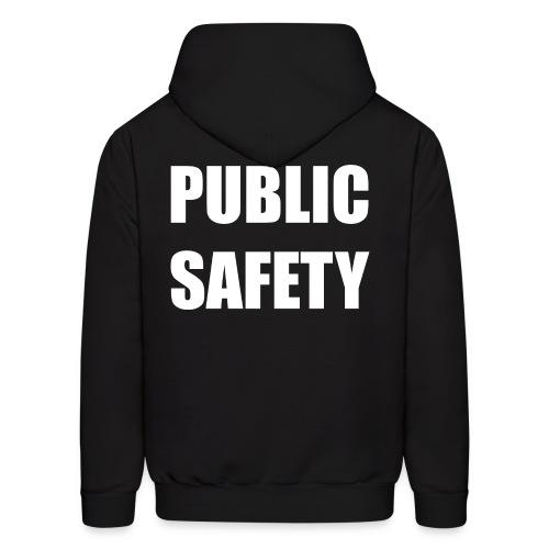 Public Safety (on back) Hoodie - Men's Hoodie