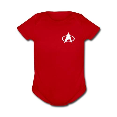Star Trek One Piece - Organic Short Sleeve Baby Bodysuit