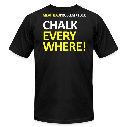 Problem #1003: Chalk Everywhere! - Men's  Jersey T-Shirt
