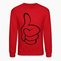 Mac Miller Thumbs Up Crewneck