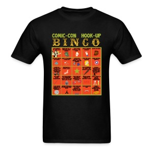 Comic-Con Hook Up Bingo - Men's T-Shirt