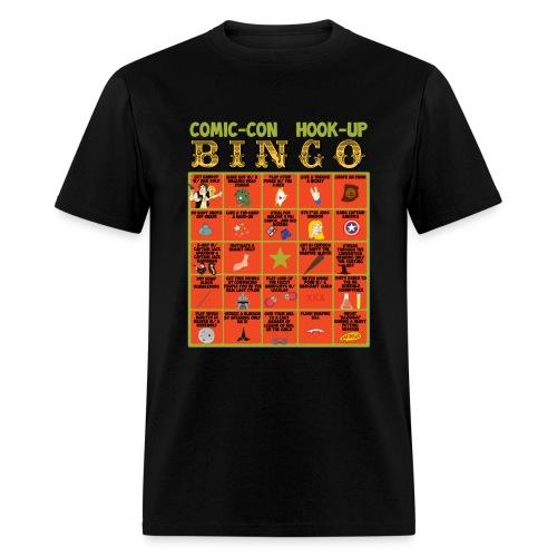 Comic-Con Hook Up Bingo - Men's T-Shirt