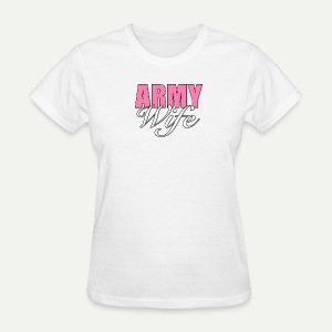 Army Wife - Women's T-Shirt