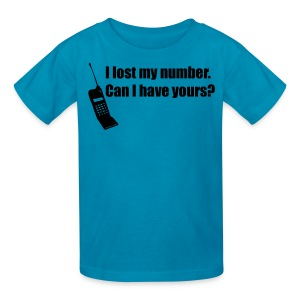 I lost my number shirt - Kids' T-Shirt