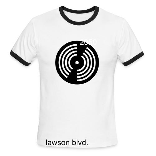 lawson disc - Men's Ringer T-Shirt