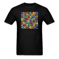 T-Shirts ~ Men's T-Shirt ~ Pi shirt - Rainbow unisex tee