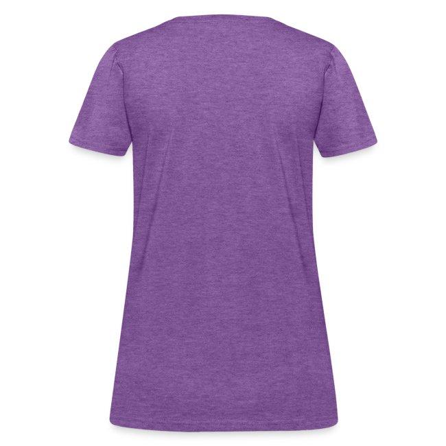 Pi shirt - grey ladies' tee