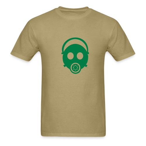 gas mask t shirt - Men's T-Shirt
