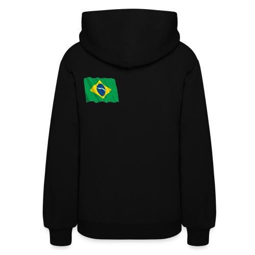 Left Cheek International Love Hooded Sweatshirt - Women's Hoodie