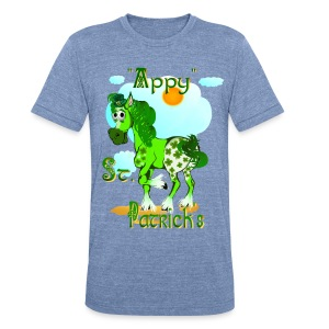 Appy St. Pattrick's  - Unisex Tri-Blend T-Shirt by American Apparel