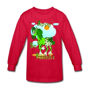 Appy St. Pattrick's  - Kids' Long Sleeve T-Shirt