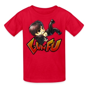 Anime Gun Fu Children's Tee - Kids' T-Shirt