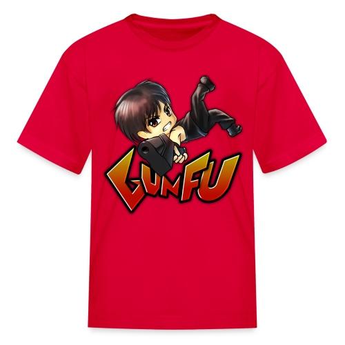 Anime Gun Fu Children's Tee - Kids' T-Shirt
