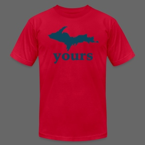 Up Yours - Men's Fine Jersey T-Shirt