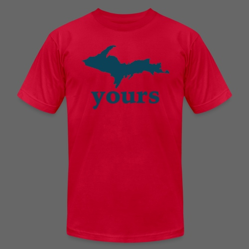 Up Yours - Men's T-Shirt by American Apparel
