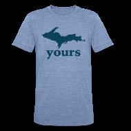 T-Shirts ~ Unisex Tri-Blend T-Shirt ~ Up Yours