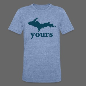 Up Yours - Unisex Tri-Blend T-Shirt