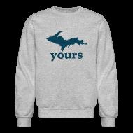 Long Sleeve Shirts ~ Crewneck Sweatshirt ~ Up Yours
