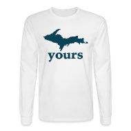 Long Sleeve Shirts ~ Men's Long Sleeve T-Shirt ~ Up Yours