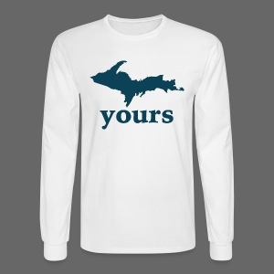 Up Yours - Men's Long Sleeve T-Shirt