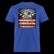 T-Shirts ~ Men's T-Shirt ~ Official Dogs Against Romney German Shepherd Tee
