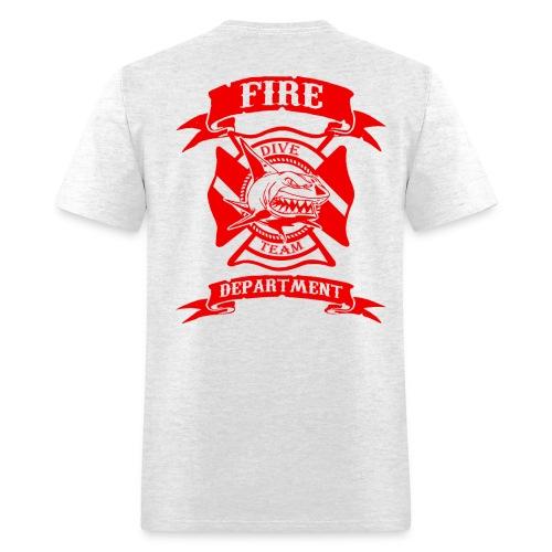 FIRE DEPT WATER RESCUE DIVE TEAM - Men's T-Shirt