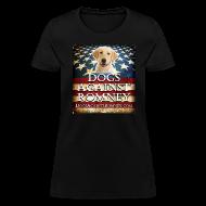 Women's T-Shirts ~ Women's T-Shirt ~ Official Dogs Against Romney Labrador Retriever Women's Tee