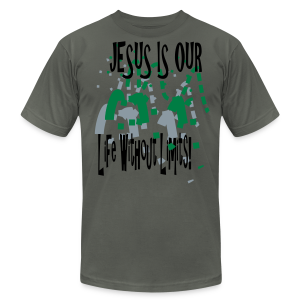 Jesus is our life without limits - Men's Fine Jersey T-Shirt