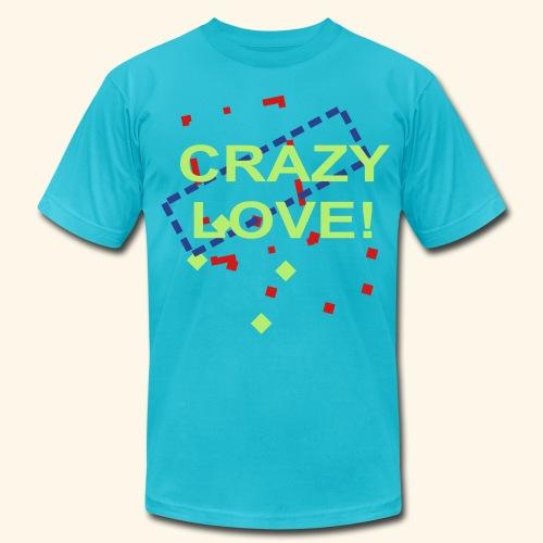 crazy love - Men's  Jersey T-Shirt