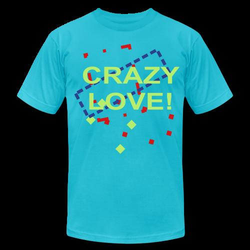 crazy love - Men's Fine Jersey T-Shirt