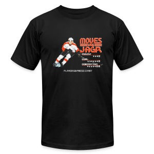 Moves Like Jagr - Men's T-Shirt by American Apparel