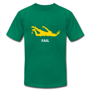 Funny Gym Shirt - Jumprope fail T-Shirts - Men's T-Shirt by American Apparel