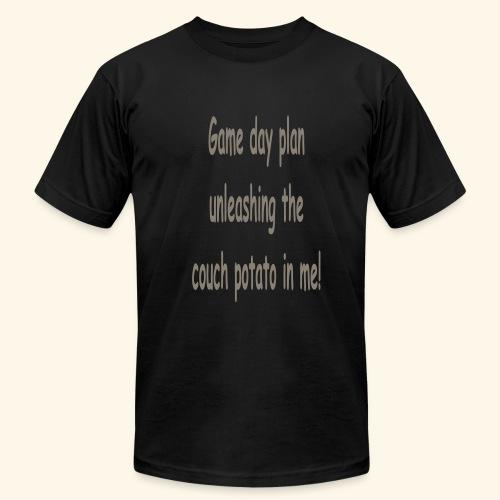 Game day plan - Men's  Jersey T-Shirt