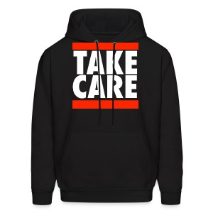 TAKE CARE RUN DMC LOGO T SHIRT Drake - Men's Hoodie