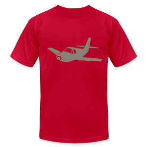 Airplane - Men's T-Shirt by American Apparel