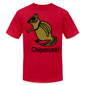 Chipmunk. - Men's T-Shirt by American Apparel