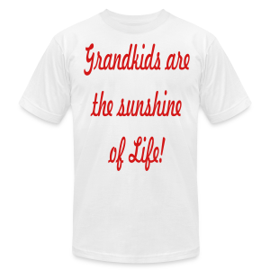 Grandkids are the sunshine of Life - Men's T-Shirt by American Apparel