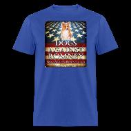 T-Shirts ~ Men's T-Shirt ~ Official Dogs Against Romney Corgie Tee