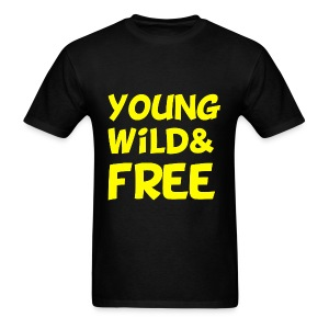 Young Wild and Free T Shirt Wiz Khalifa - Men's T-Shirt