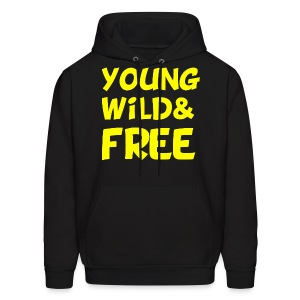 Young Wild and Free Hoodie Wiz Khalifa - Men's Hoodie