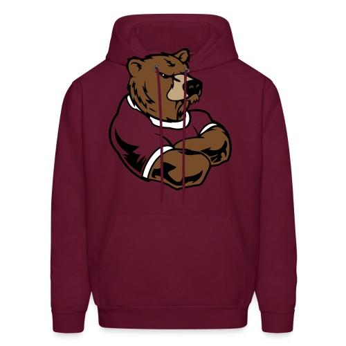 angy bear hoodie - Men's Hoodie