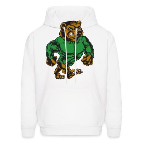 bad ass bear hoodie - Men's Hoodie