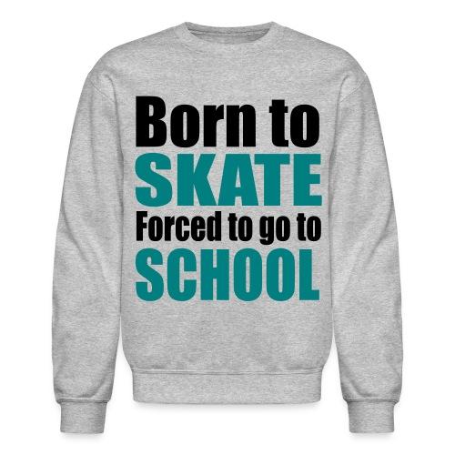 skate sweatshirt - Crewneck Sweatshirt