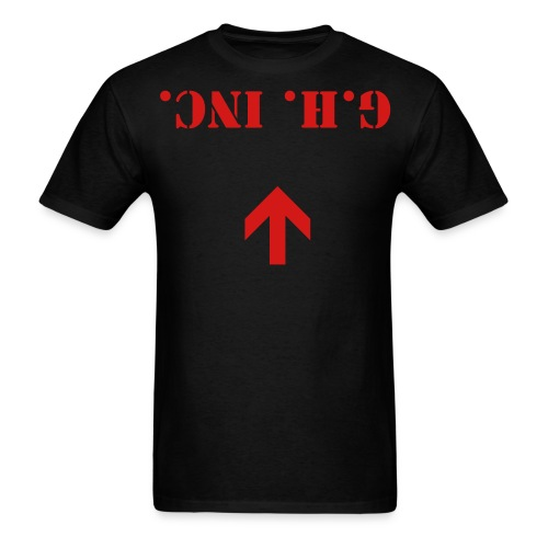 up side down G.H. inc tee - Men's T-Shirt